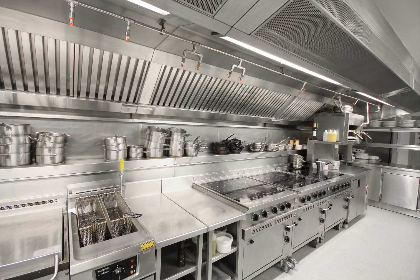 superb Commercial Kitchen Fire Suppression #6: Fire Suppression System Packages Include: